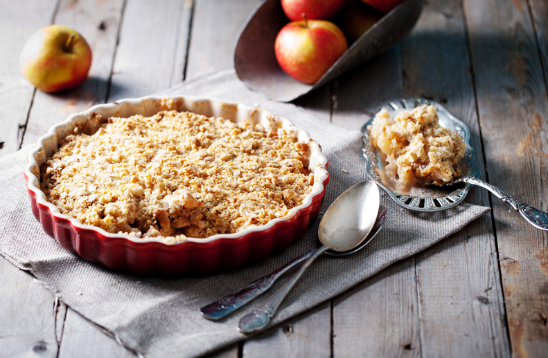 Apple or Berry Crisp