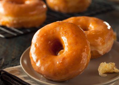 Creamy Crispy Doughnuts
