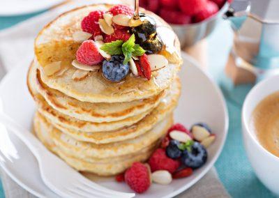 Whole Grain Pancakes/Waffles