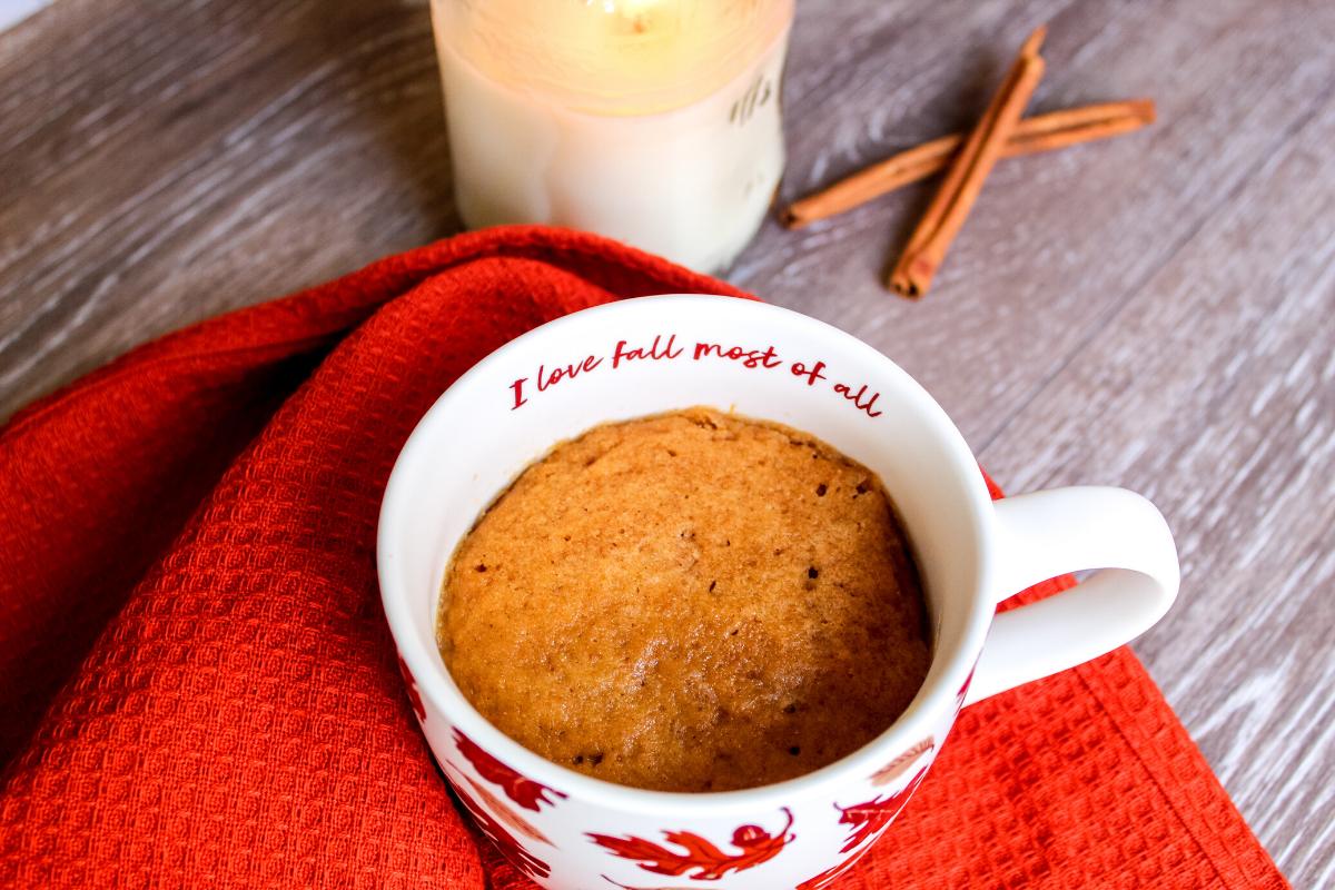 Easy 3 Ingredient Gluten Free Vegan Mug Cakes Sun Flour Mills